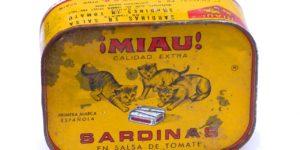baltické sardinky, hrdzavá konzerva