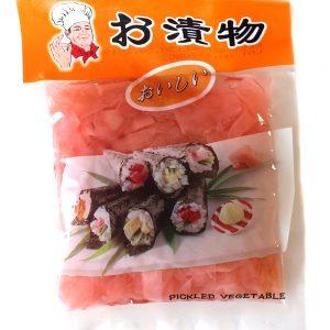 Nakladaný zázvor 150 g - morské riasy - riasy na sushi - nori riasy - riasa nori - sushi riasy - morske riasy predaj - morské riasy cena - japonska kuchyna kniha - japonská kuchyňa recepty - azijska kuchyna recepty - japonska kuchyna - azijska kuchyna - ázijská kuchyňa - japonská kuchyňa