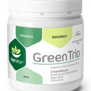 topnatur GREEN TRIO tbl (spirulina