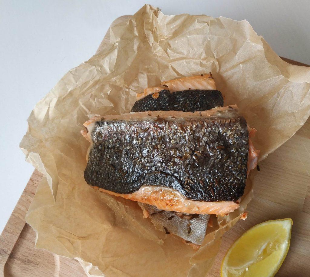pstruh na masle, pstruh recept, ako pripravit pstruha, pstruh recepty, ryby recepty, grilovane ryby recepty