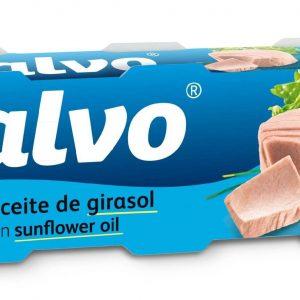 CALVO Tuniak v slnečnicovom oleji 3x80 g - rybacia pomazanka - tuniaková pomazánka - tuniakova pomazanka -  tuniak v konzerve - tuniak v oleji - tuniak v olivovom oleji - franz josef tuniak - calvo tuniak - rio mare tuniak v olivovom oleji - tuniak vo vlastnej stave - calvo tuniak vo vlastnej stave