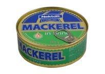 Nekton Makrela vo vlastnej šťave 240 g - rybacia pomazanka - rybacia nátierka - filety sledove - makrela v konzerve - makrely - slede - sleď