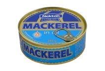Nekton Makrela v oleji 240 g - rybacia pomazanka - rybacia nátierka - filety sledove - makrela v konzerve - makrely - slede - sleď